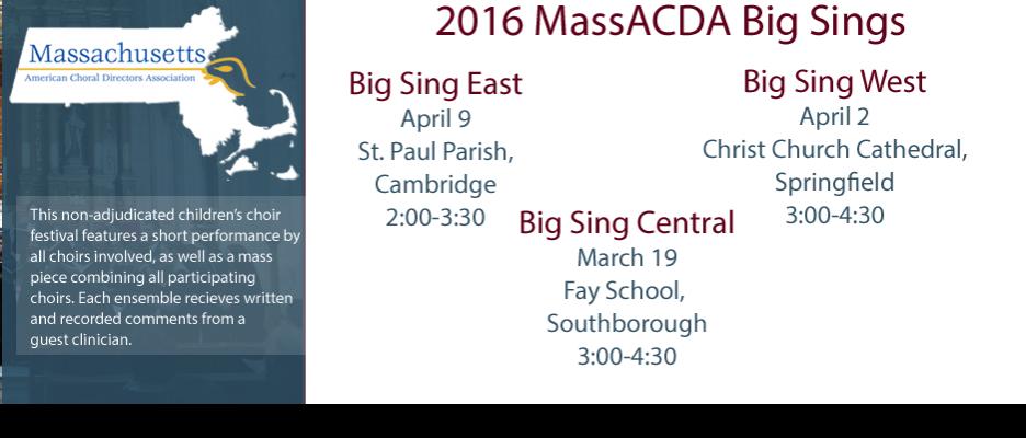 2016 Big Sing Slide