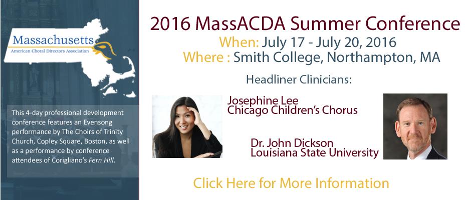 2016 Summer Conference Slide
