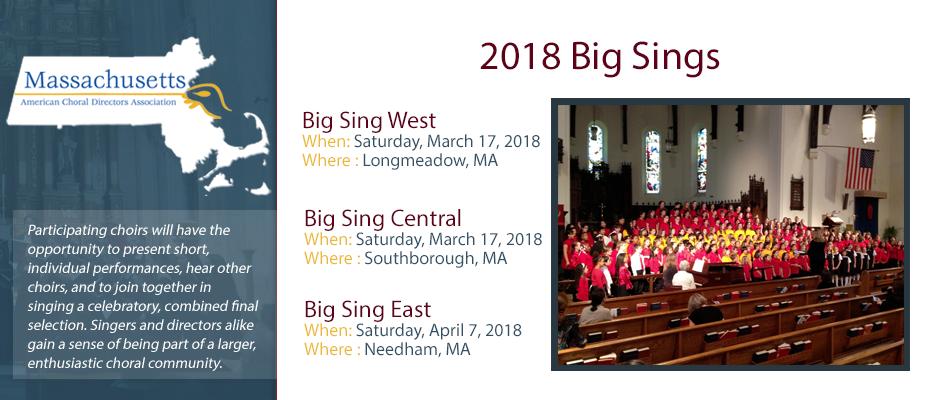 2018 Big Sings